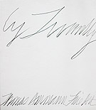 Catalogue Cy Twombly 2001